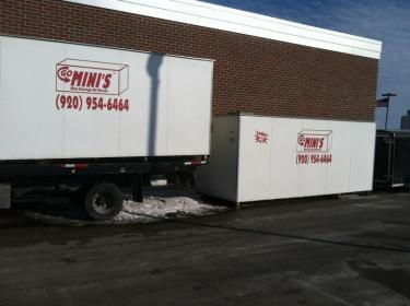 Go Mini's Appleton storage units