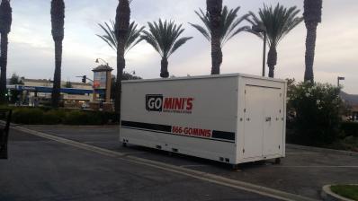 Go Mini's unit in parkinglot